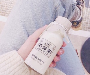 aesthetic, milk, and theme image