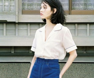 fashion, model, and kiko mizuhara image