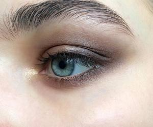 eyes, makeup, and fashion image