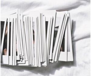 white, aesthetic, and polaroid image
