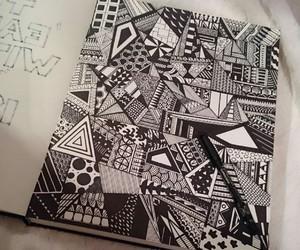 art, blackandwhite, and bw image