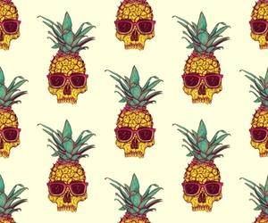 wallpaper, pineapple, and cool image