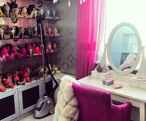 closet, lipstick, and make up image