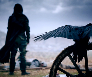 death, crow, and lucien grimaud image