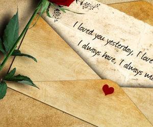 Letter, love, and romance image
