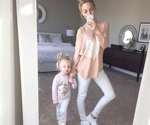 style, baby, and family image