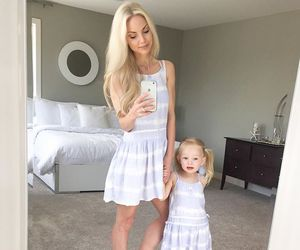baby, daughter, and dress image