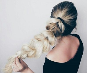 hair, braid, and fashion image