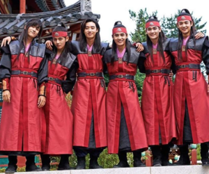 hwarang, bts, and taehyung image