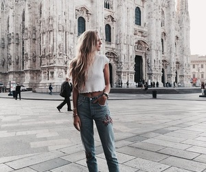 fashion, italy, and travel image