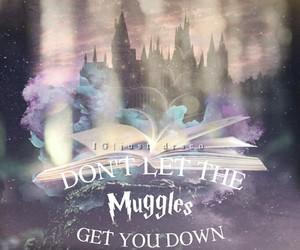 hogwarts and muggles image