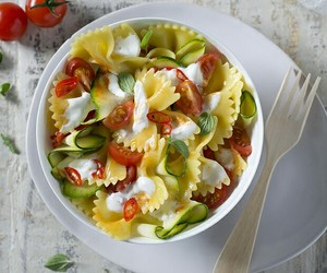 colorful, food, and pasta image