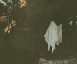 ghost and sheet image