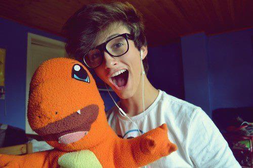 teen Cute boys nerdy