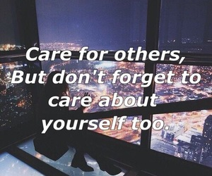 caring, love, and quotes image