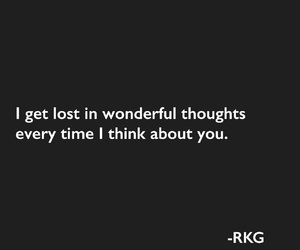 quote, thoughts, and love image