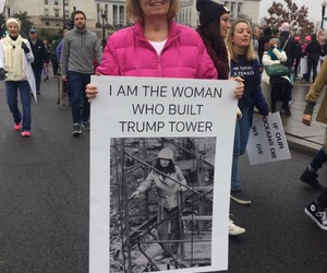 women's march image