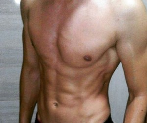 abs, veins, and fitbody image