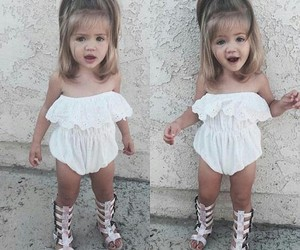 cute, baby, and outfit image