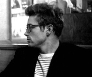 james dean, vintage, and black and white image