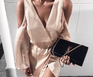 bag, fashion, and silk image