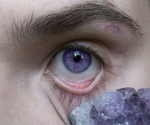 purple, eyes, and eye image