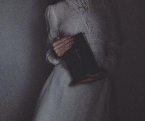 bible, book, and dark image