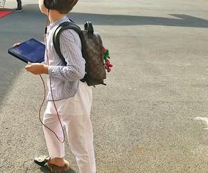kid, white, and traveler image
