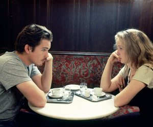 before sunrise and couple image