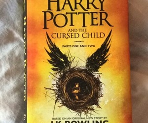 books, harrypotter, and thecursedchild image