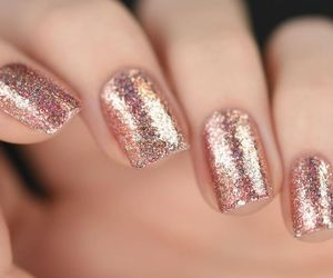 glitter, party, and nails image