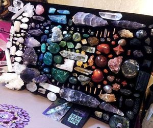 quartz, witchcraft, and wicca image