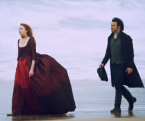 period drama, eleanor tomlinson, and aidan turner image