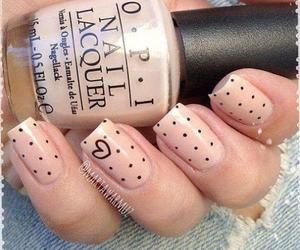 nails, heart, and opi image