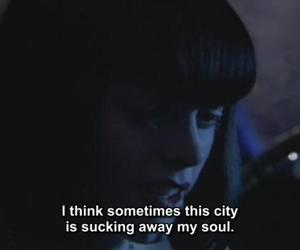 city, soul, and quotes image