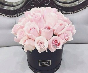 flowers, pink, and romantic image