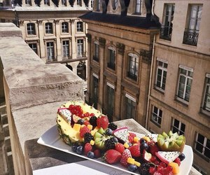 fruit, food, and city image