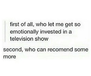 funny, tvshows, and relatable image