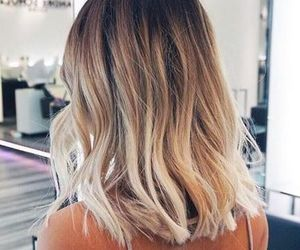 blonde, hair, and hiarstyle image
