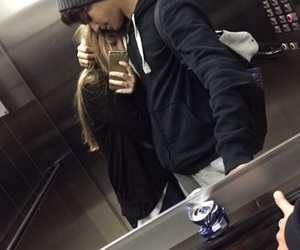 couple, aesthetic, and grunge image