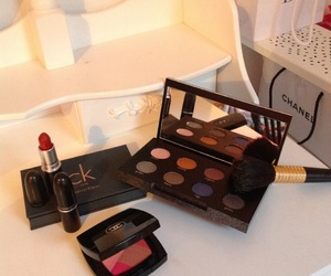 chanel, makeup, and maquillage image