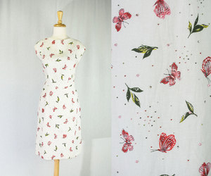 etsy, vintage party dress, and madmen dress image