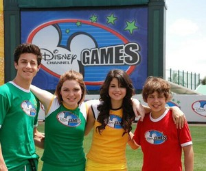 david henrie, selena gomez, and wizards of waverly place image