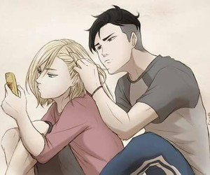 yuri on ice, otabek, and yuri plisetsky image