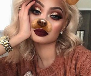 makeup, beauty, and snapchat image