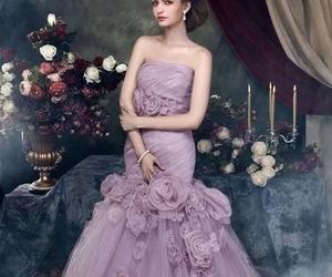 bridesmaid, dress, and wedding image