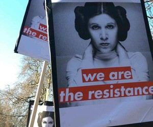 feminism, girl power, and star wars image
