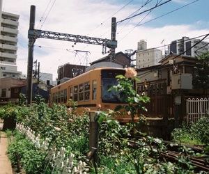 city, green, and japan image