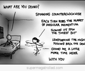 love, time, and science image