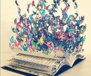 art, we heart it, and book image